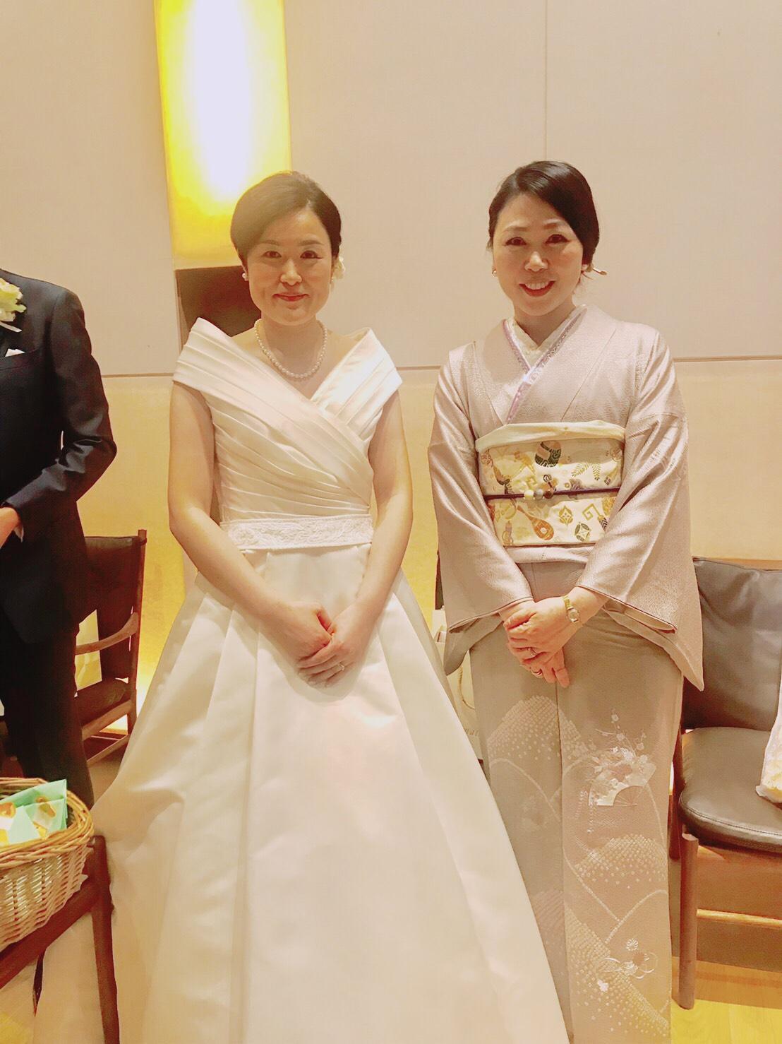 結婚式にお招きいただきました♡
