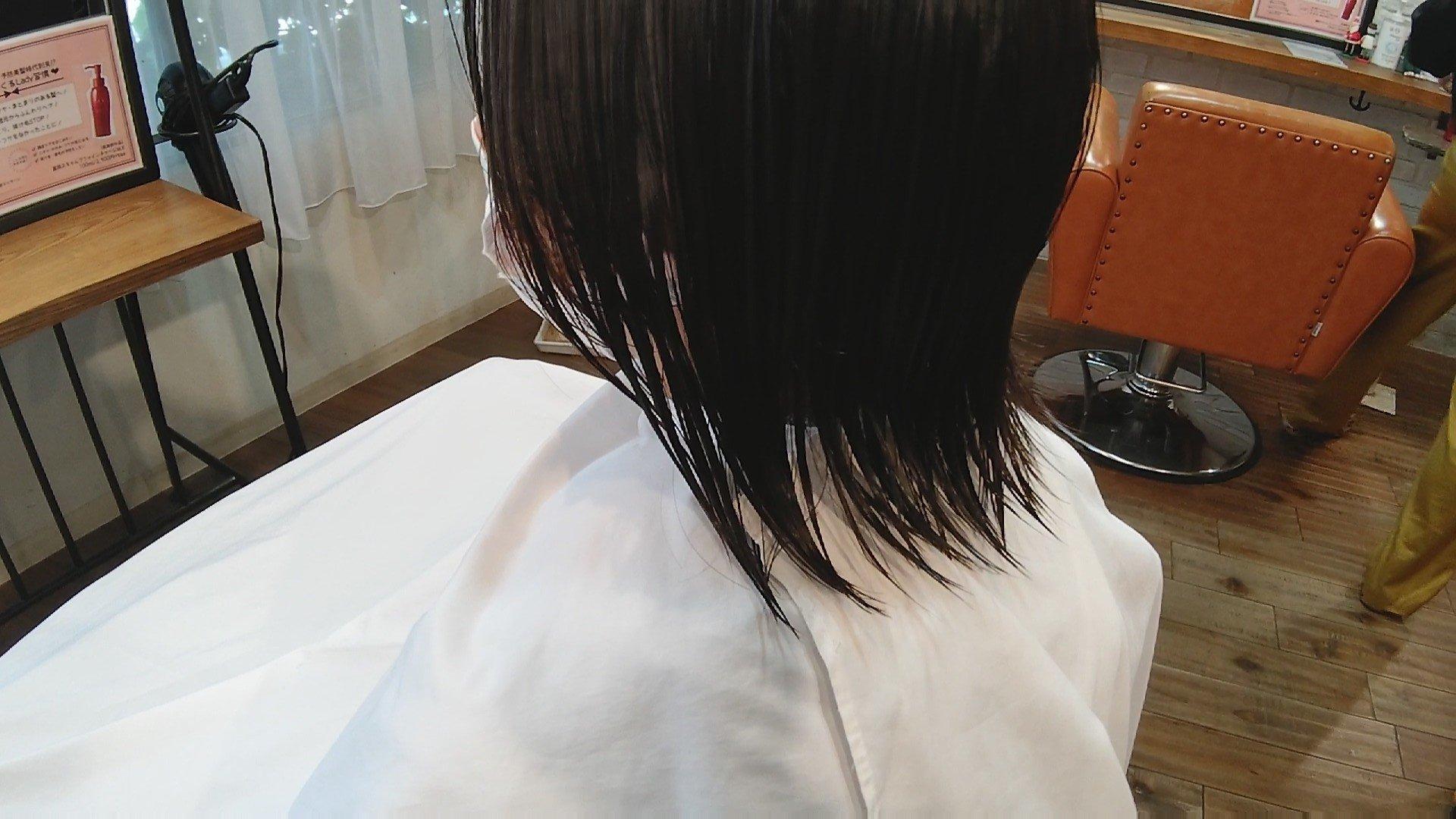 ショートヘアのお悩み その ①